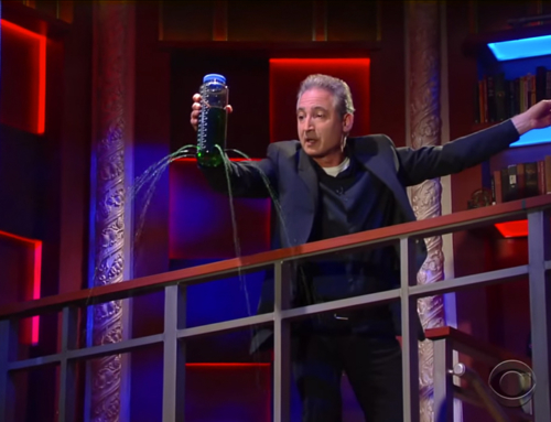 Brian Greene Explains General Relativity to Stephen Colbert
