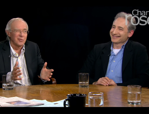 Greene Discusses Gravitational Waves on Charlie Rose